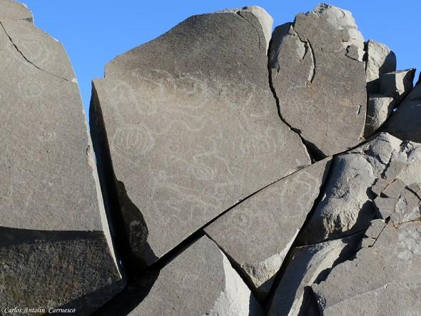 La Crestería - petroglifos - GR131 - La Palma