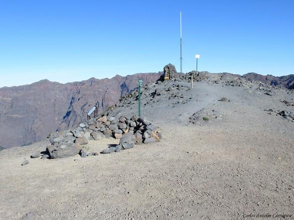 Pico de La Nieve - Transvulcania - GR131 - La Palma