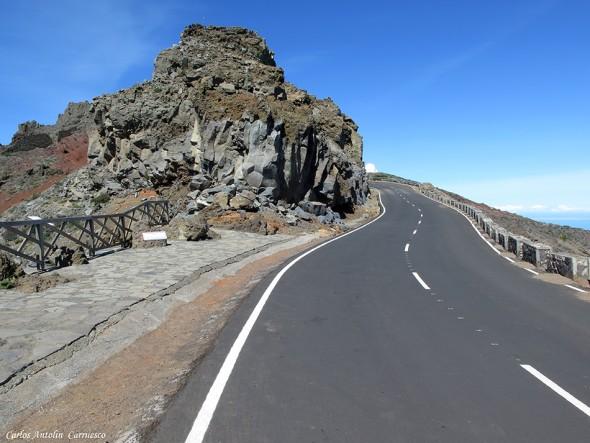 La Crestería - TRANSVULCANIA 2015 - La Palma - mirador - andenes