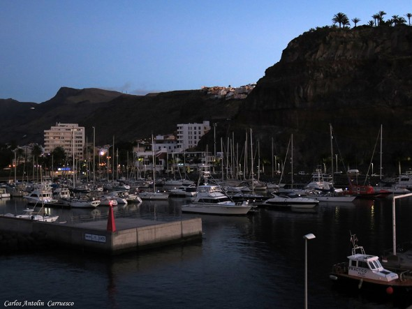 Puerto gomero de San Sebastián de La Gomera
