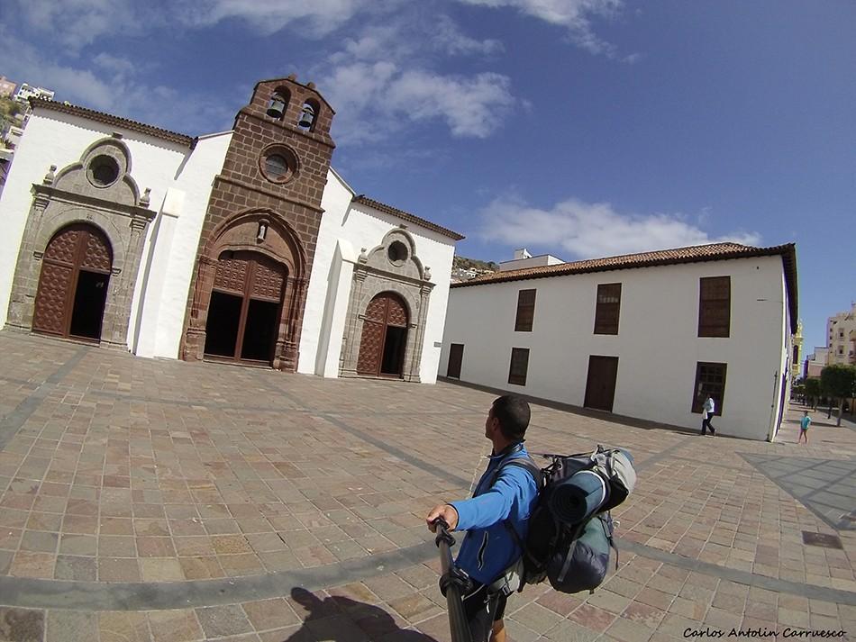 San Sebastián de La Gomera - La Villa - La Gomera - iglesia de la virgen de la asuncion