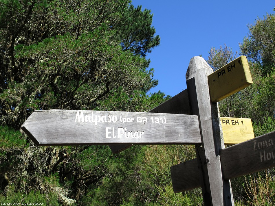 Malpaso (GR131) - El Pinar - El Hirro