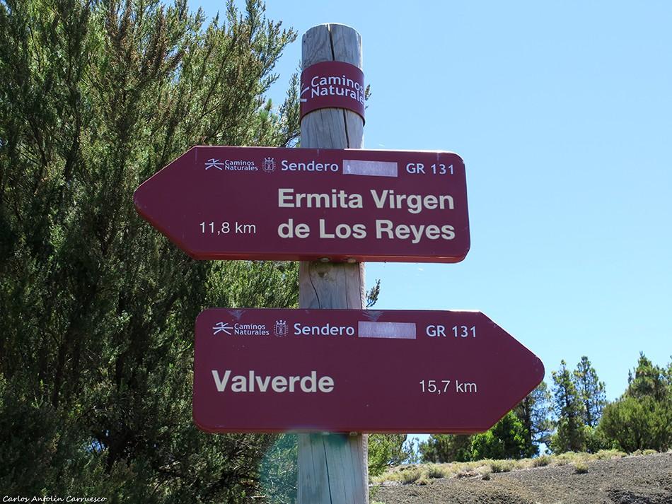 Camino de La Virgen - GR131 - El Hierro