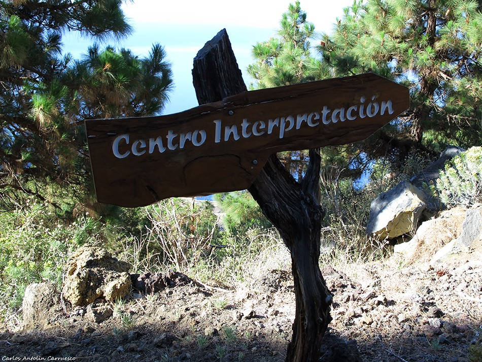 Centro de Interpretación de El Julan - inicio de la ruta - El Hierro