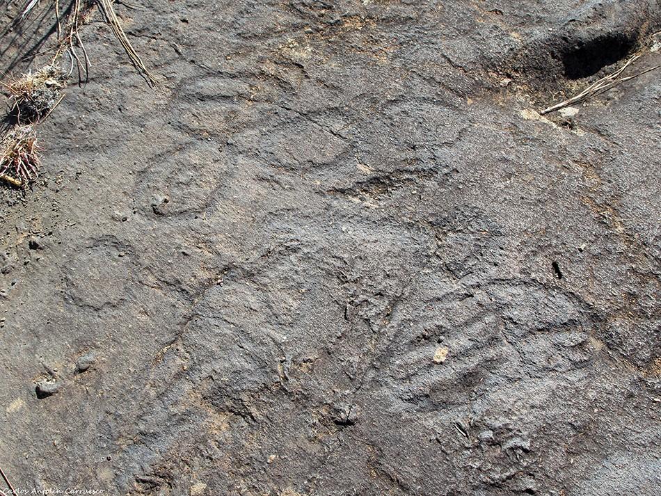 Los Números - Petroglifos - El Julan - El Hierro