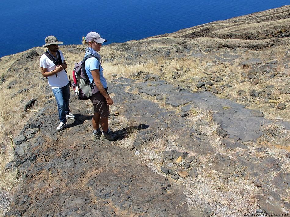 Los Letreros - Petroglifos - El Julan - El Hierro