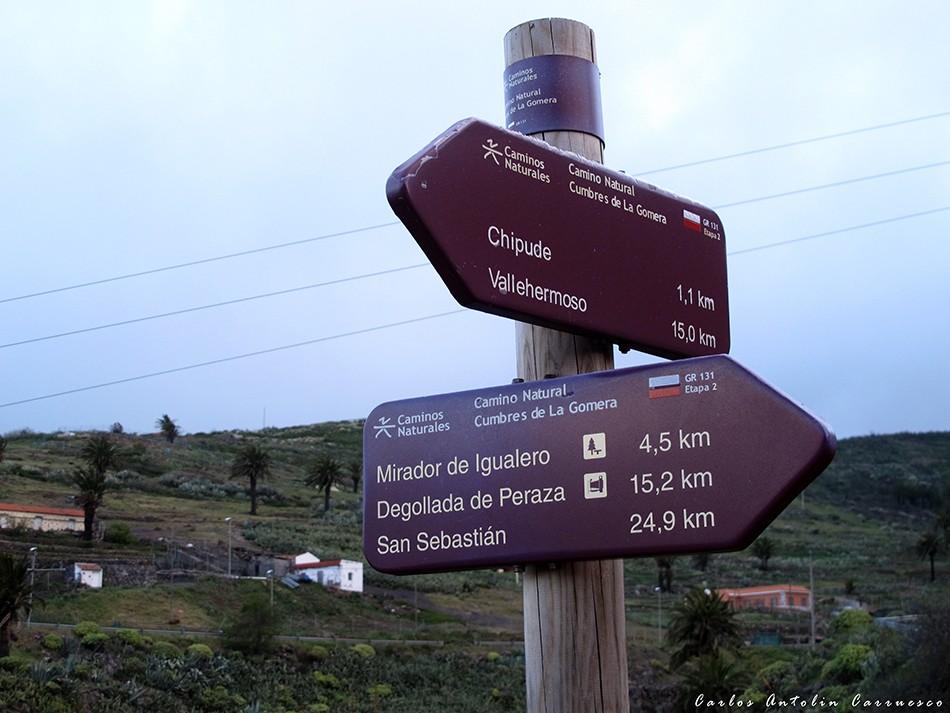 Chipude - GR131 - La Gomera
