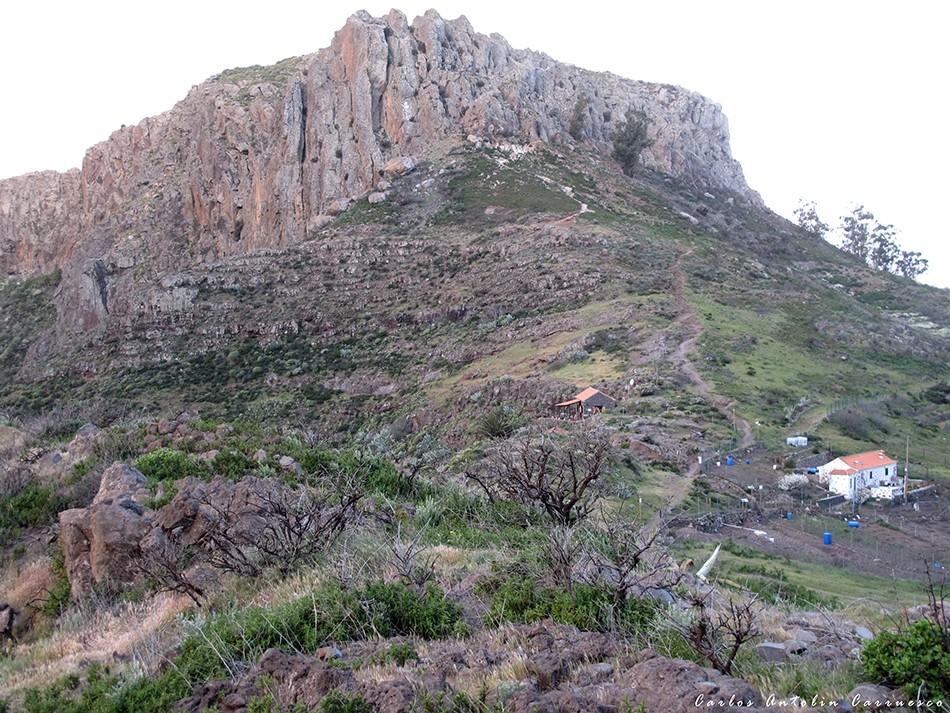 La Fortaleza de Chipude - isla de La Gomera