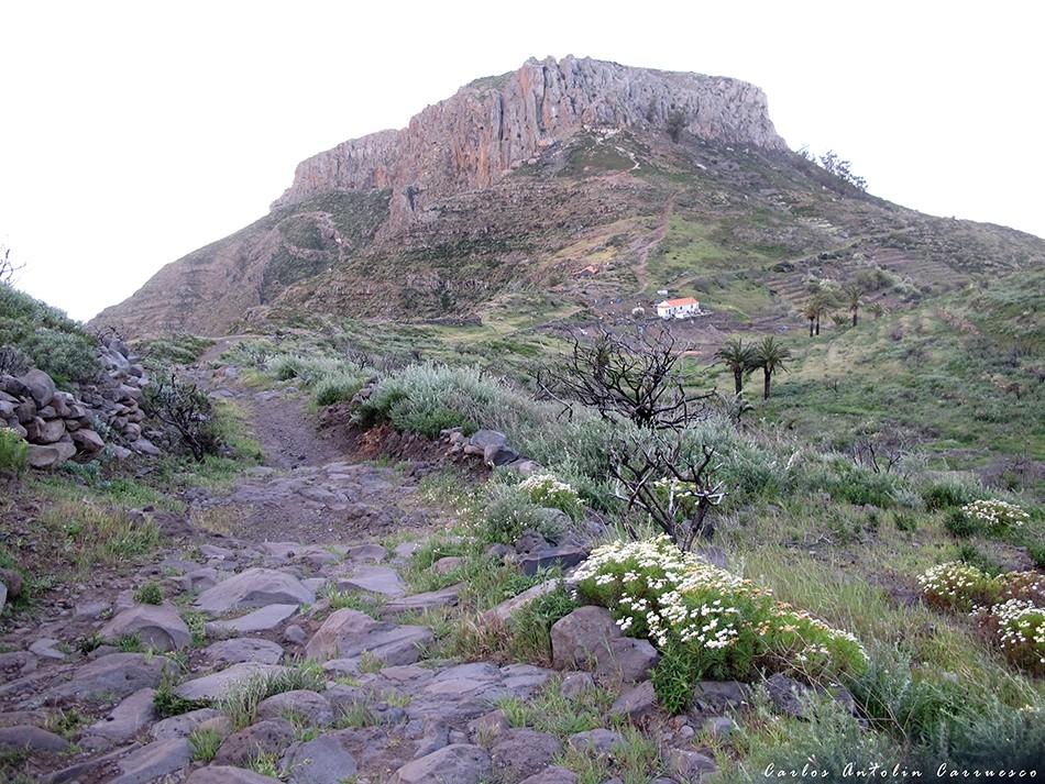 La Fortaleza de Chipude - GR131 - La Gomera