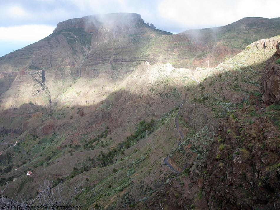 la gomera - fortaleza - chipude - erques
