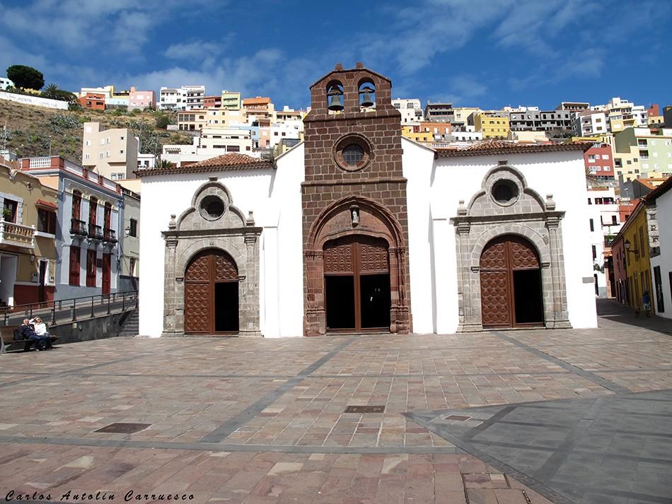 San Sebastián de La Gomera - La Villa - La Gomera - iglesia - virgen de la asunción