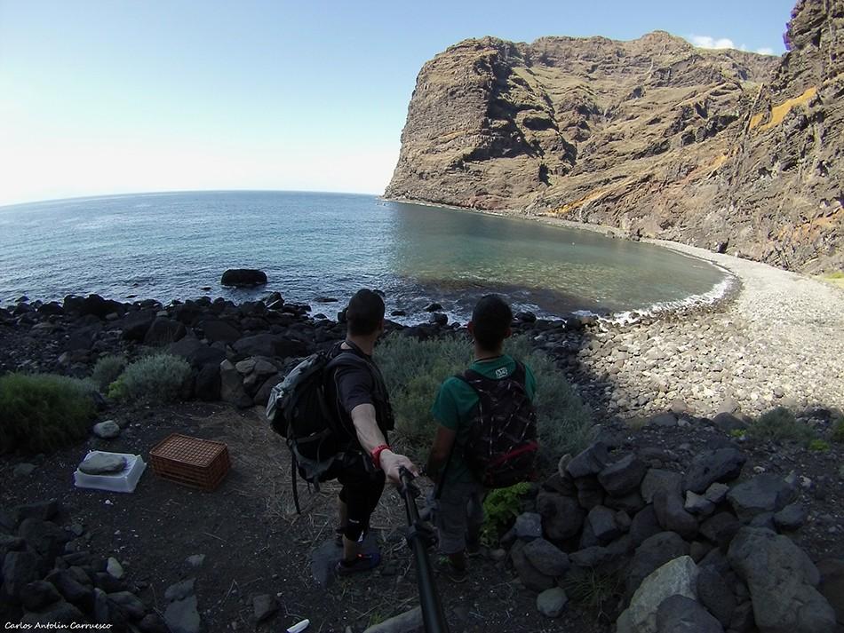 Barranco Seco - Parque Rural de Teno - Tenerife - Playa Seco - Los Gigantes
