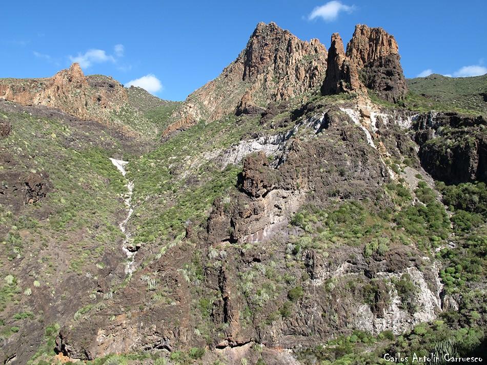 Risco Blanco - Barranco Seco - Teno - Tenerife