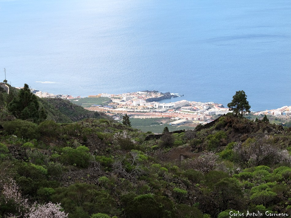 Costa Sur de Tenerife desde Arguayo