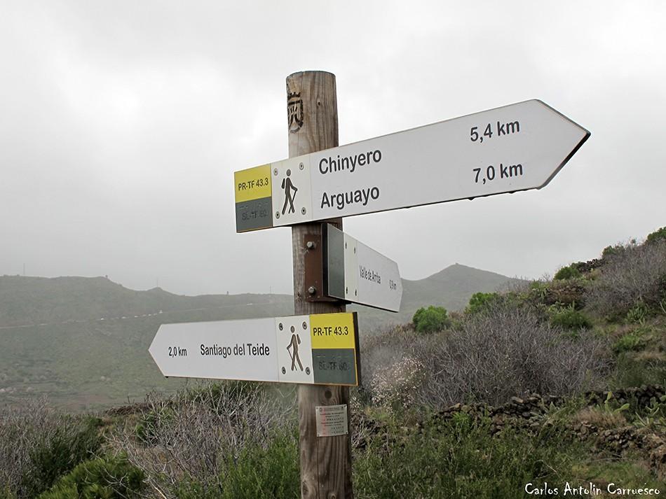 Ruta de los Almendros - Chinyero - Tenerife