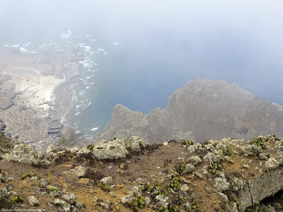 La Dehesa - Mirador de Bascos - El Hierro - arenas blancas
