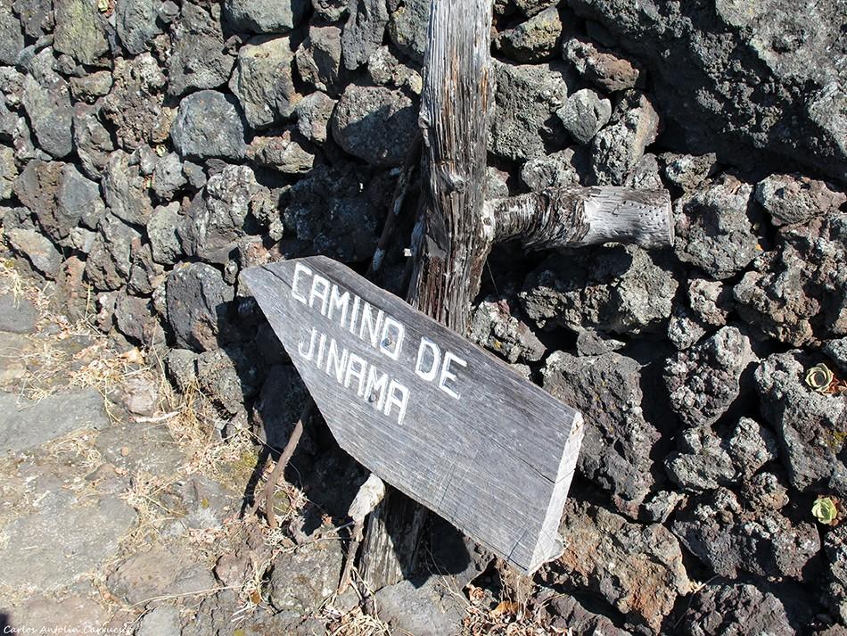 Camino de Jinama - El Golfo - El Hierro