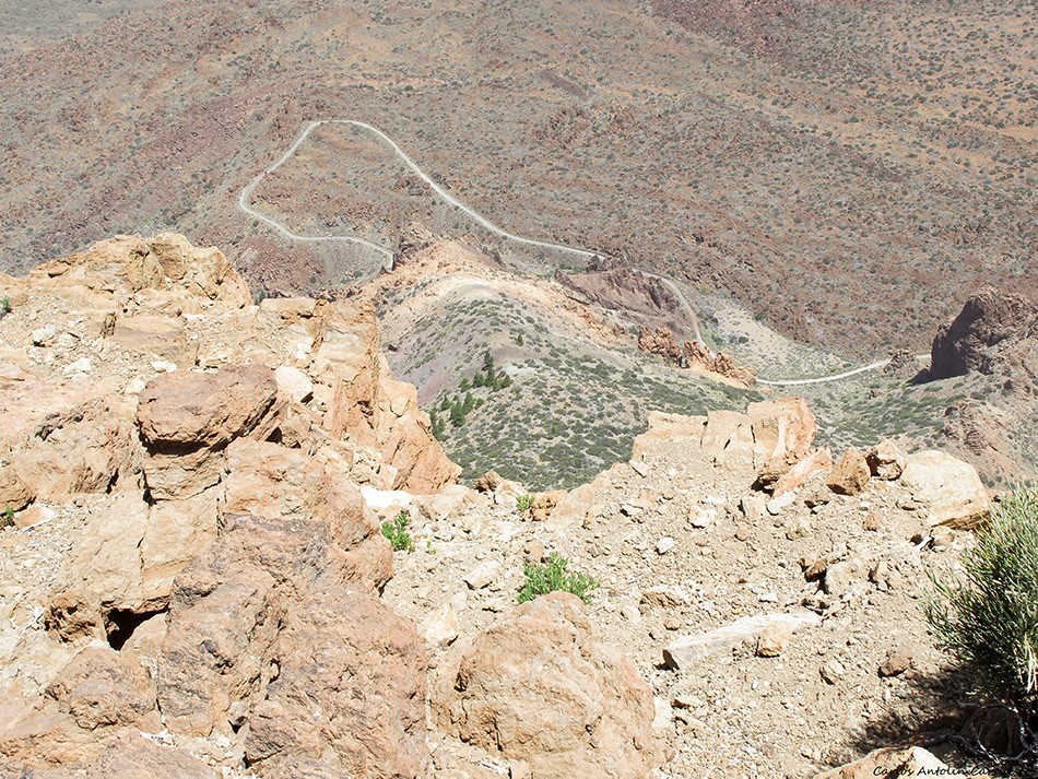 Sendero 7 cañadas - Parque Nacional del Teide - Tenerife