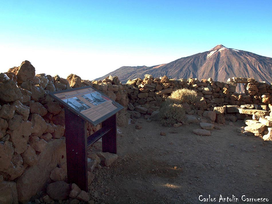 Alto del Guajara (2.715 metros) - P.N. del Teide - Tenerife