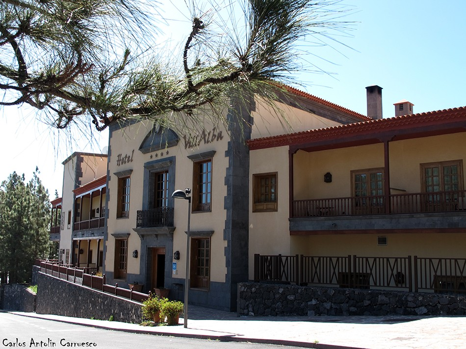 Vilaflor - GR131 - Tenerife - hotel villalba