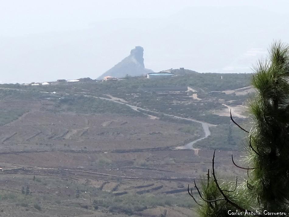 Vilaflor - GR131 - Tenerife - roque de jama