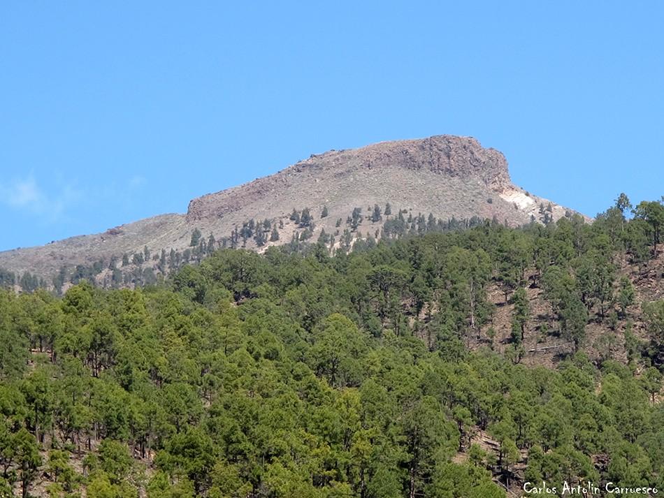 Vilaflor - GR131 - Tenerife - Roque de Los Almendros - cumbres de ucanca