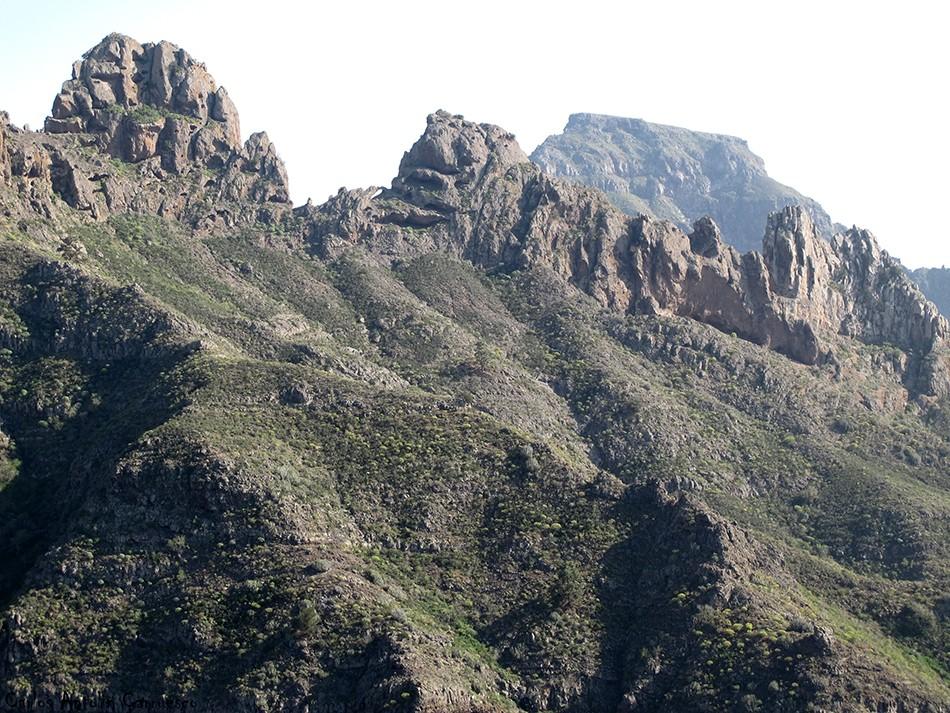 Adeje - Camino de Carrasco - Tenerife - Degollada de Los Frailitos - Roque del Conde