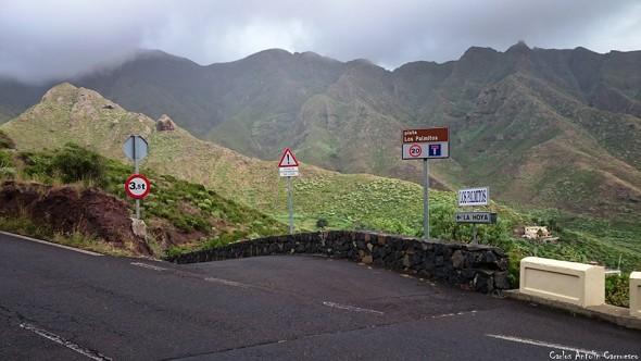 Pista Los Palmitos - La Hoya - Anaga - Tenerife