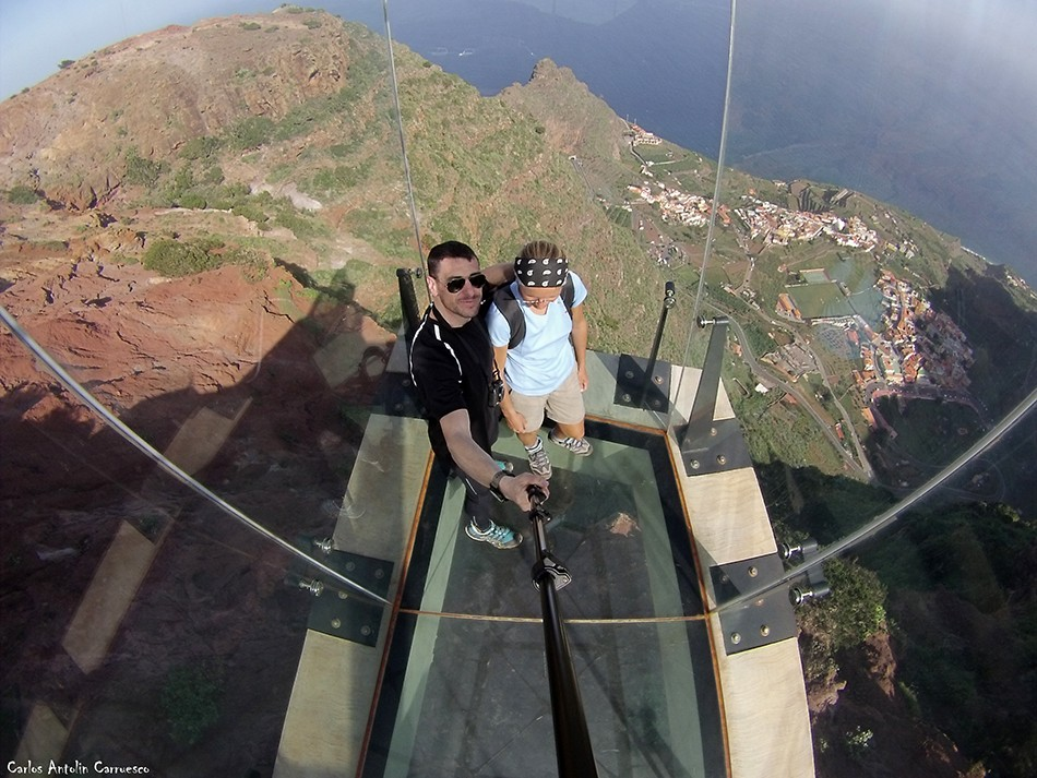 Mirador de Abrante (620 metros de altitud) - Agulo - La Gomera