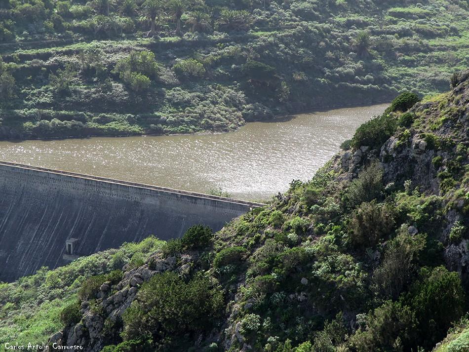 Agulo - presa de La Palmita - La Gomera