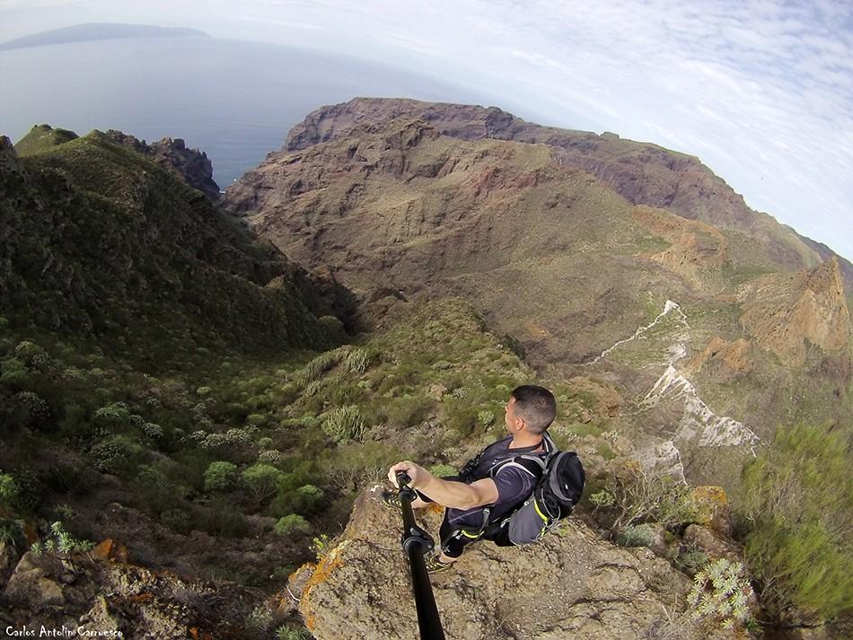 Los Gigantes - Barranco Seco - Tenerife - Parque Rural de Teno