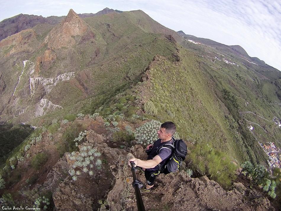 Los Gigantes - Barranco Seco - Tenerife - Risco Blanco - Parque Rural de Teno