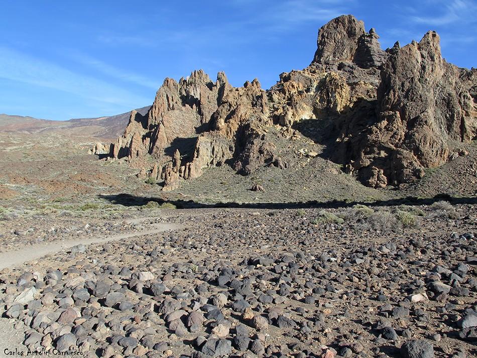 Roques de García - Teide - Tenerife - Valle de Ucanca - La Catedral