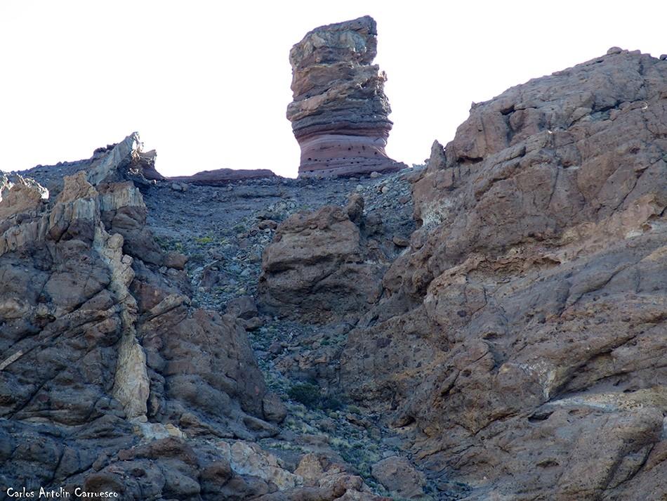 Roques de García - Teide - Tenerife - Valle de Ucanca - Roque Cinchado