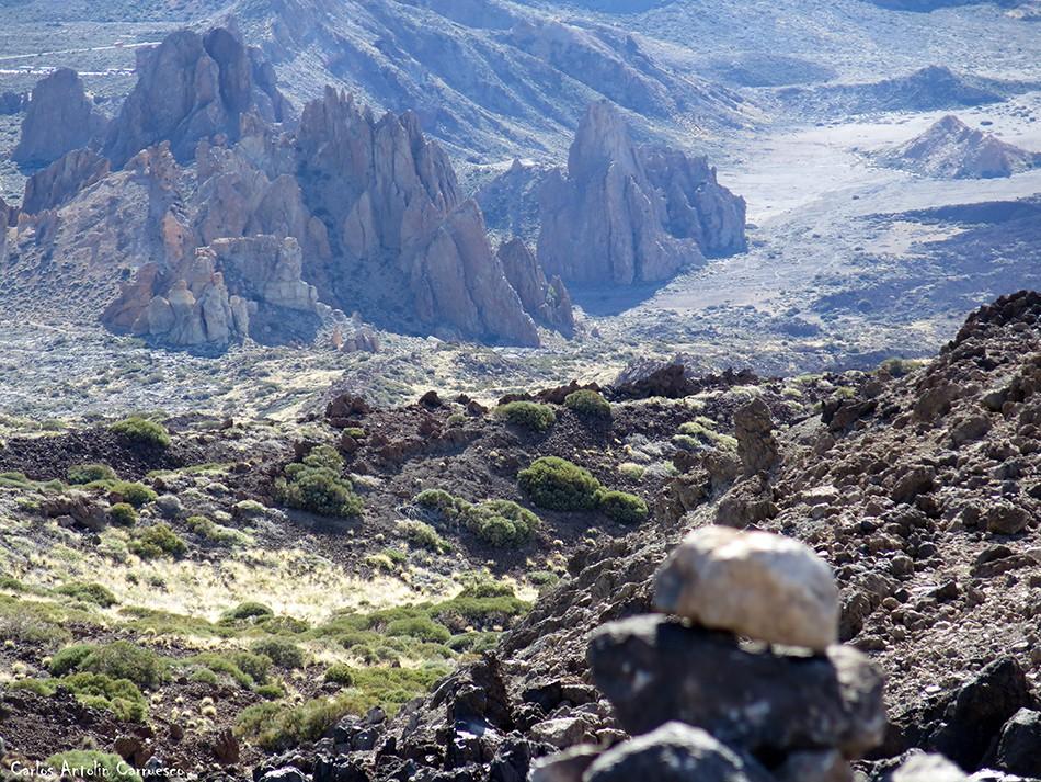 Regatones Negros - Ultra Bluetrail - Tenerife - Parque Nacional del Teide - sendero Nº 23 - roques de garcía