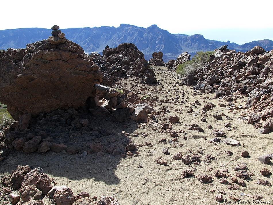 Regatones Negros - Ultra Bluetrail - Tenerife - Parque Nacional del Teide - sendero Nº 23