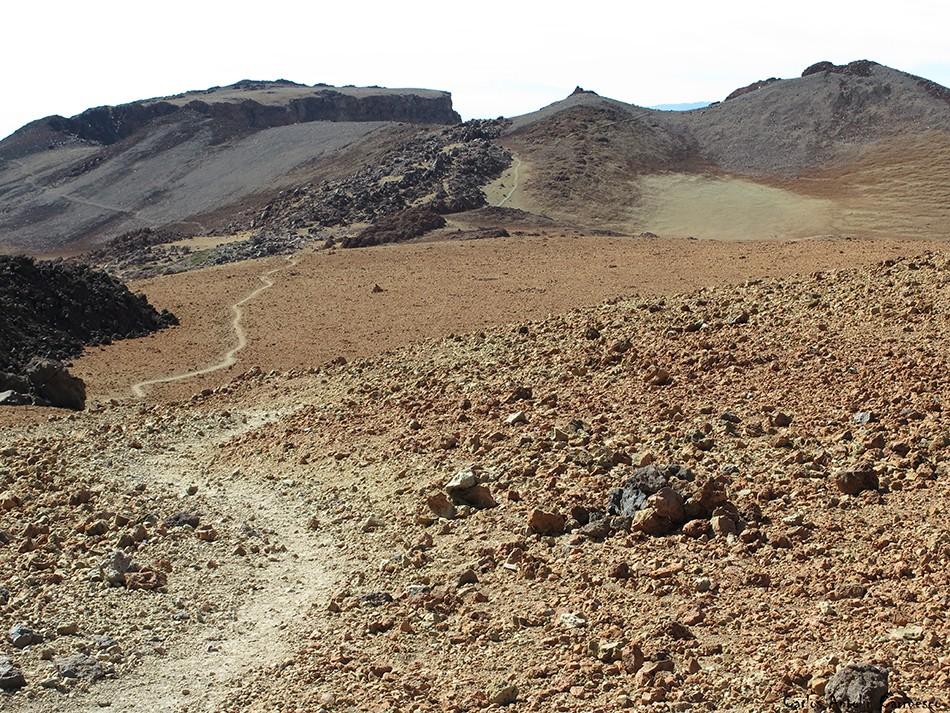 Sendero Nº9 - Parque Nacional del Teide - Tenerife - pico viejo