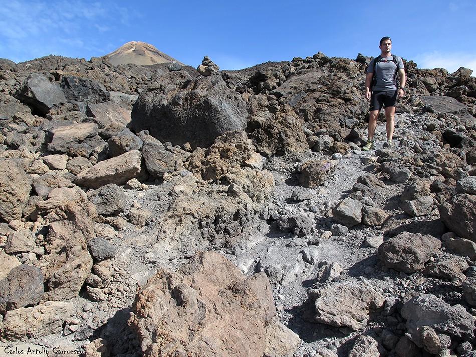 Sendero Nº9 - Parque Nacional del Teide - Tenerife