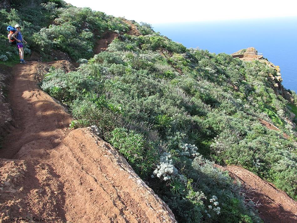 Mirador de Aguaide - Chinamada - Anaga - Tenerife