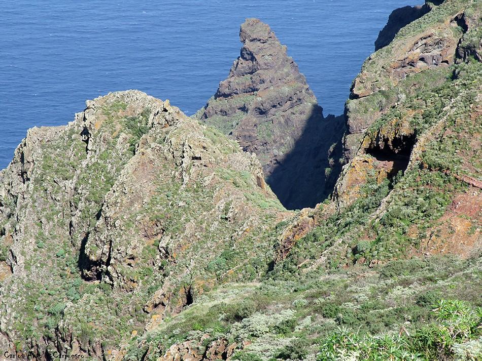 Mirador de Aguaide - Chinamada - Anaga - Tenerife - picacho de magín
