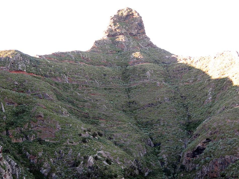 Roque de Taborno - Anaga - Tenerife - sendero de Palo Hincado