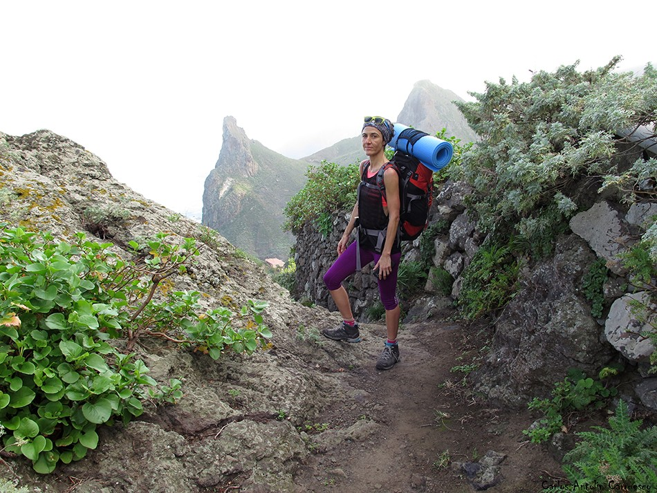 Sendero a Taganana - Anaga - Tenerife - Roque de Las Ánimas