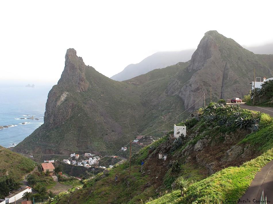 Taganana - Anaga - Tenerife - Roque de Las Ánimas - Roque de Enmedio