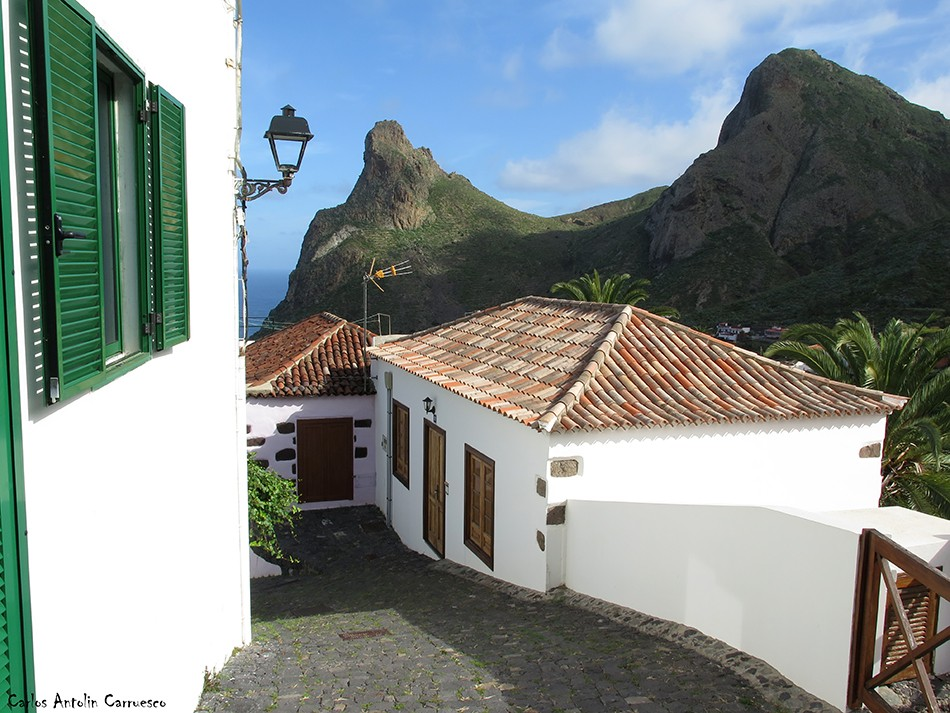 Taganana - Anaga - Tenerife - Las Ánimas - Roque de Enmedio - Camino Portugal