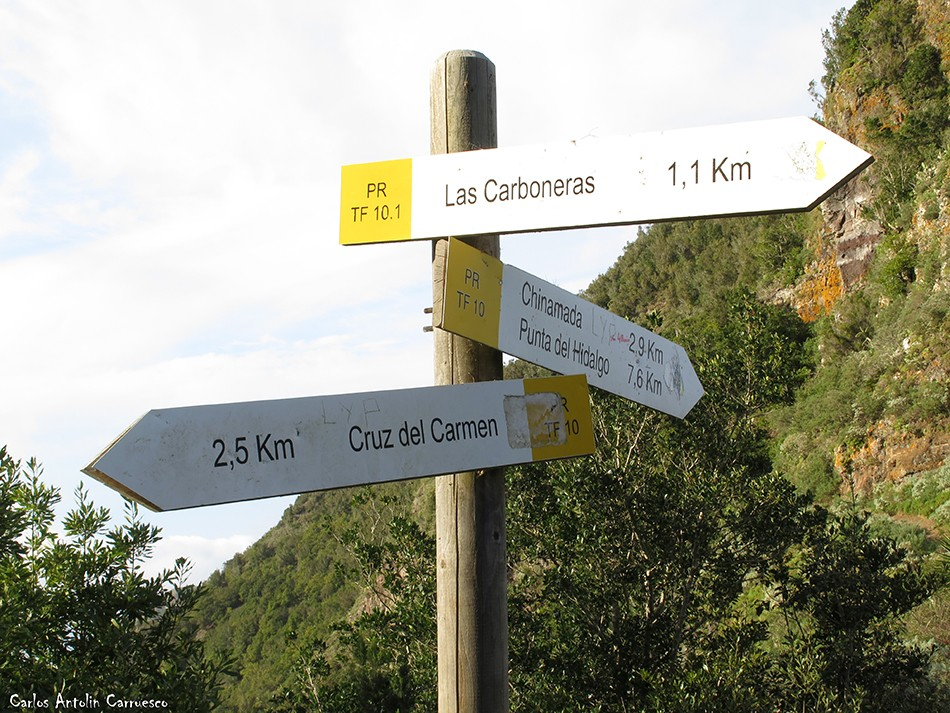 Las Carboneras - Anaga - Tenerife - las escaleras