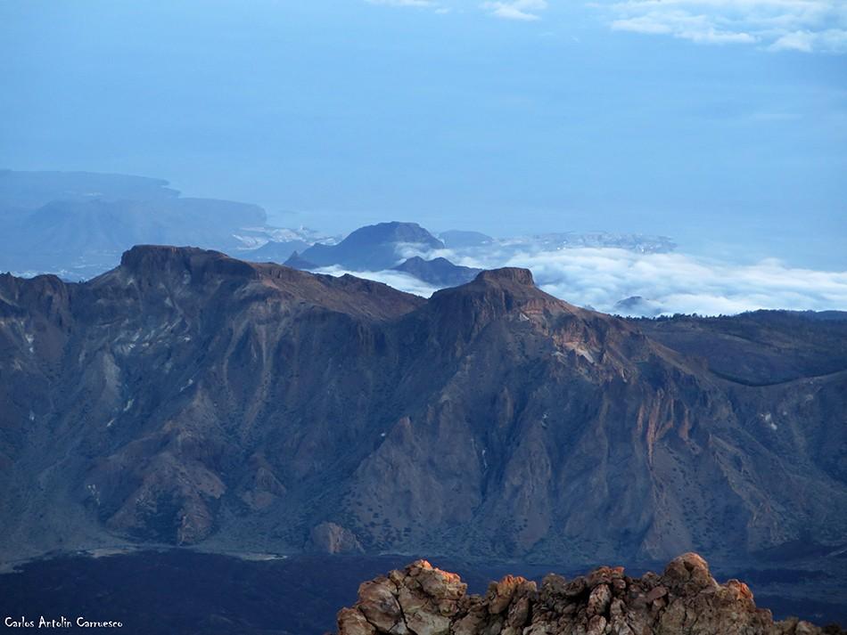 Pico y cráter del Teide - Tenerife - el sombrero - cumbres de ucanca