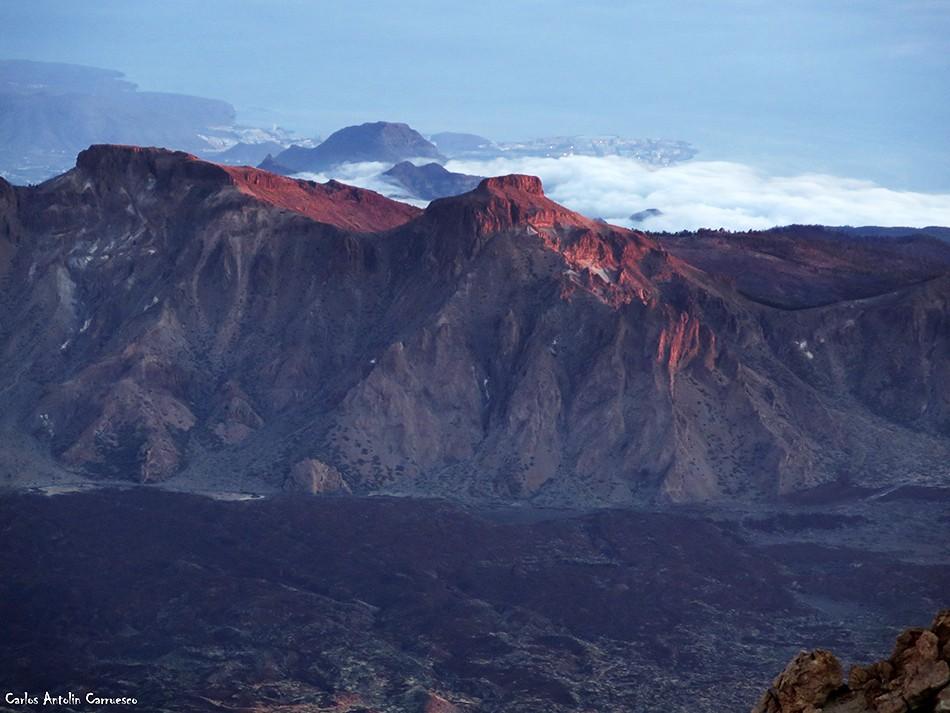 Pico y cráter del Teide - Tenerife - Cumbres de Ucanca - El Sombrero
