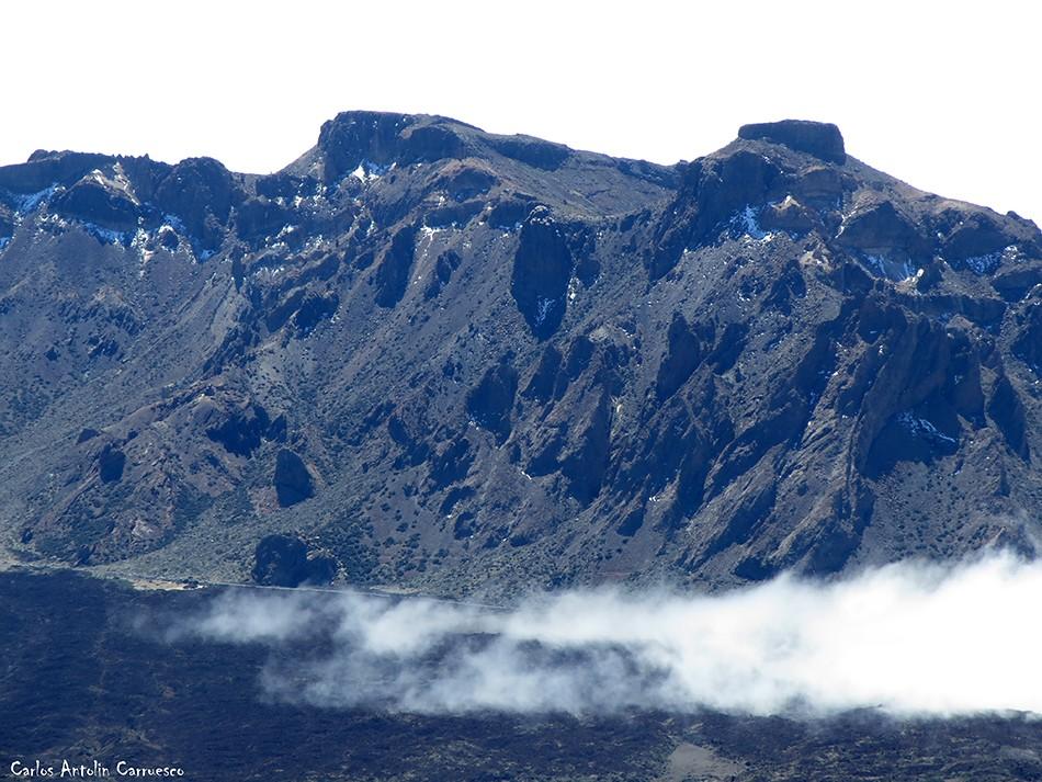Las Cumbres de Ucanca - El Sombrero - Teide