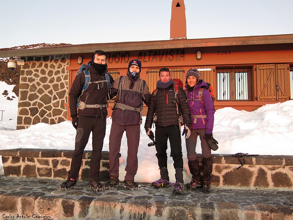 Refugio de Altavista - Parque Nacional del Teide - tenerife