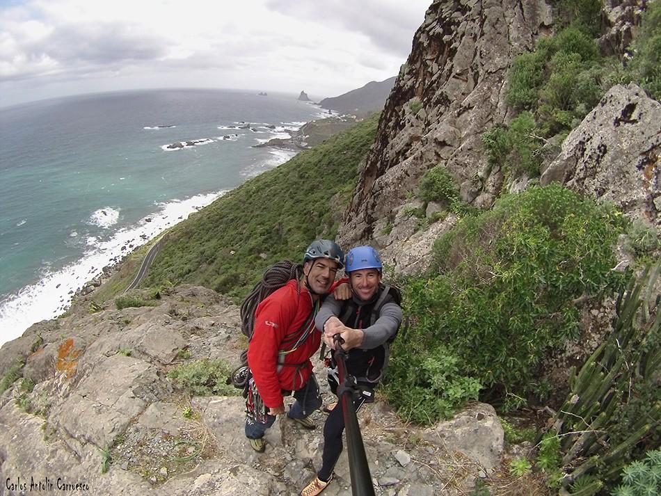 Cara Norte de Las Ánimas - Anaga - Tenerife - Vía Taganana